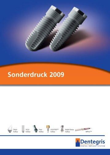 Sonderdruck 2009 - Dentegris