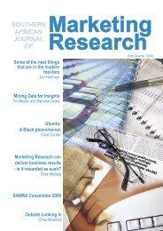 Marketing Research - SAMRA