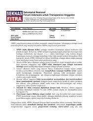 308 kB - Seknas Fitra