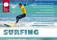 English & Surfing - The Devon School of English