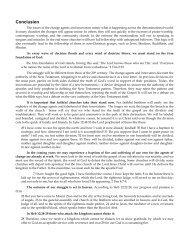 Conclusion PDF - Gospel Lessons