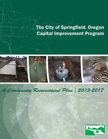 A Community Reinvestment Plan 2013-2017 - City of Springfield