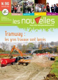 les gros travaux sont lancés N.96 - Saint Jean de la Ruelle