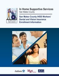 In Home Supportive Services - My Benefit Choices