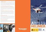 Folleto Helicópteros - Salvamento Marítimo