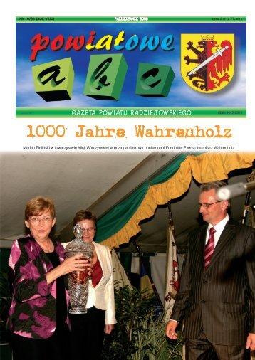 """""""Powiatowe ABC..."""" pażdziernik 2008 - Powiat Radziejowski"""
