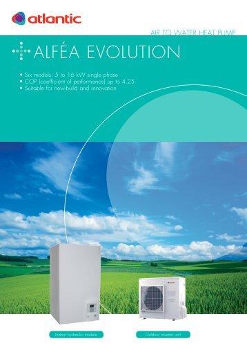 AlféA Evolution - Atlantic-comfort.com