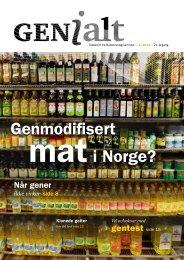 Last ned pdf av bladet - Bioteknologinemnda