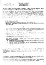 ZARZĄDZENIE Nr 6/2012 Wójta Gminy Suchy ... - Gmina Suchy Las
