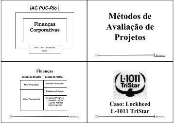 Apresentação - IAG - A Escola de Negócios da PUC-Rio