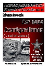 309 Schwarze Protokolle - Der neue Avantgardismus Leninismus