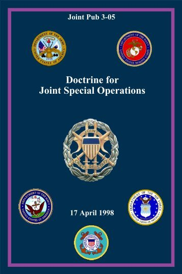 3-05 Doctrine for Joint Special Operations
