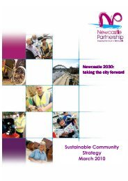 Sustainable Community Strategy March 2010 - Newcastle City Council