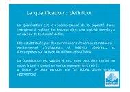 Présentation de la certification Qualibat. - ALE-Montpellier