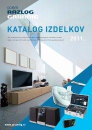 Grundig katalog izdelkov 2011 - Eurovision