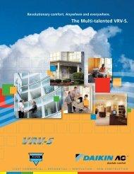 The Multi-talented VRV-S. - Pacific HVAC Air Conditioner