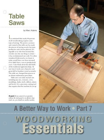 Table Saws - Popular Woodworking Magazine
