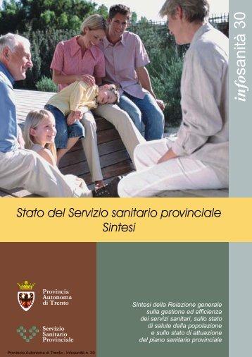 info sanità 30 - Trentino Salute