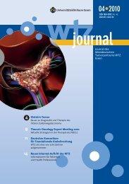 Ausgabe 4-2010 - Westdeutsches Tumorzentrum Essen