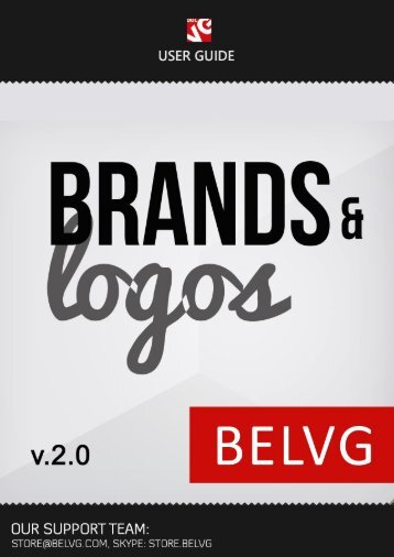 Brands and Logos User Guide - BelVG Magento Extensions Store