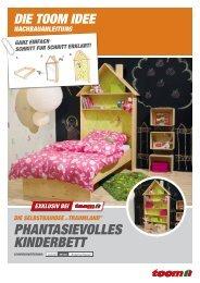 Phantasievolles Kinderbett