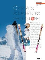 CELSIUS SOUS HAUTES PROTECTIONS - Magazine Sports et ...