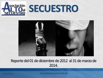 Secuestro marzo 2014