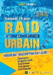 Tract Raid Urbain - Saint-Priest