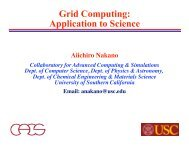 slides - Collaboratory for Advanced Computing and Simulations ...
