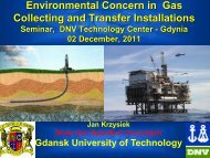 Environmental concern in gas collecting and transfer ... - DNV