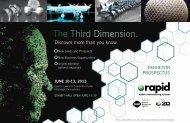 Exhibitor Prospectus - rapid 2013 - Society of Manufacturing ...