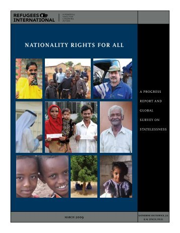 NAtioNAlity RigHts foR All - Refugee Council USA