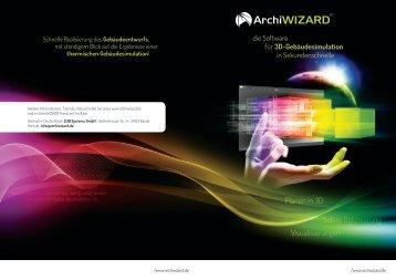 Planen in 3D Visualisierungen Solare Optimierung - Archiwizard