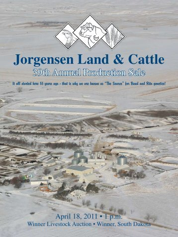 Jorgensen Land & Cattle - Angus Journal