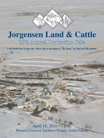Jorgensen Land & Cattle - Angus Journal