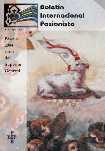 Boletín Internacional Pasionista - Passio Christi