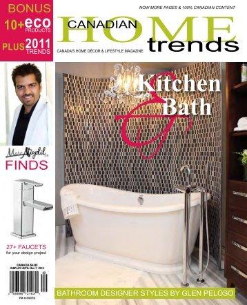 eco Kitchen Bath - Glen Peloso Interiors