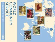 World Community Service Handbook: a Guide to Action - Rotary ...