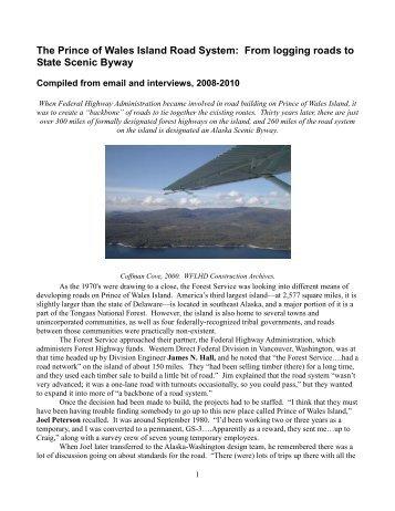 Bokan Mountain U-REE Project Prince of Wales Island ... - SME on prince wales island webcam, prince of wales steelhead fishing, prince of wales map,
