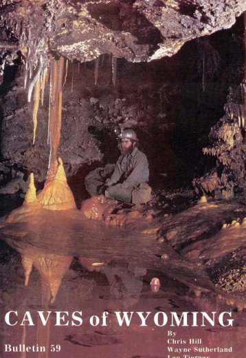 Caves of Wyoming - Wyoming State Geological Survey - University ...