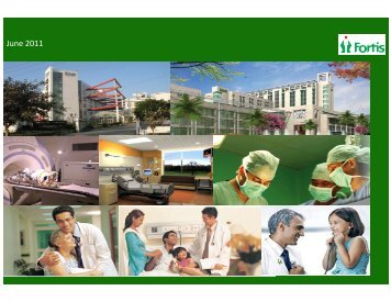 June 2011 - Fortis Healthcare