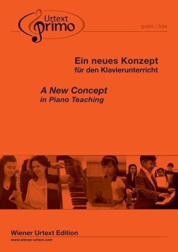 Wiener Urtext Primo Reihe - Universal Edition