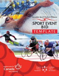 sport event bid template (sebt) - City of Prince George
