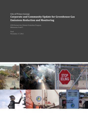 Corporate and Community Update for Greenhouse Gas Emissions ...