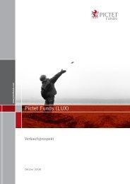 Pictet Funds (LUX) - Samuel Begasse