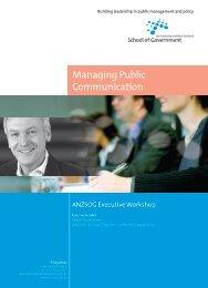 Managing Public Communication - Australia and New Zealand ...