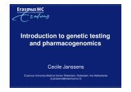 Introduction to genetic testing and pharmacogenomics - engage