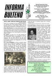 Bolonja Esperanto Grupo Gruppo Esperantista Bolognese