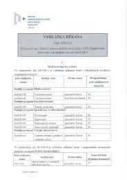 10D/2012 - Fakulta zdravotnických studií