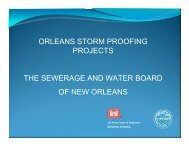 Storm Proofing Projects Presentation March 2010 - Sewerage and ...